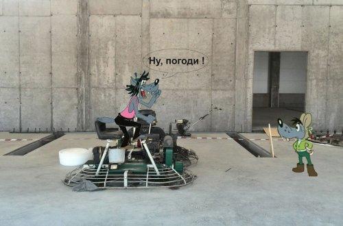 Мультперсонажи на строительной площадке (25 фото)