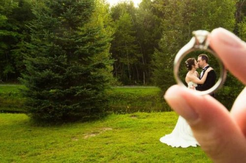 Прикольные и креативные свадебные фотографии (15 фото)