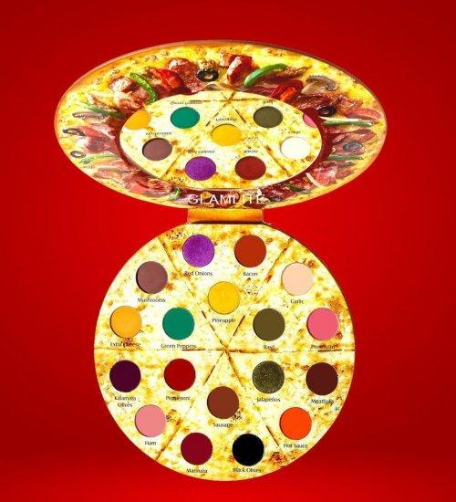 Теперь вы можете купить палитру теней для век, которая выглядит как пицца, и она даже упакована в коробку (6 фото)