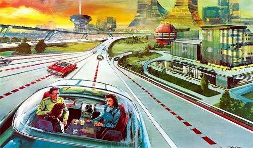 Каким в прошлом веке видел будущее иллюстратор Артур Радебо (11 фото)