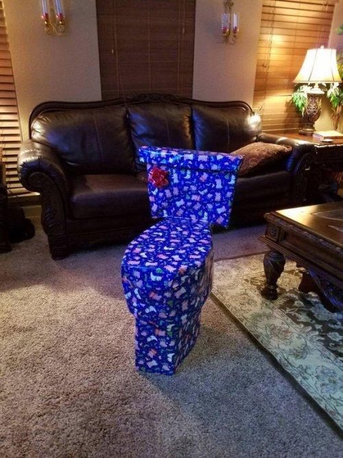 Интернет-пользователи показывают, как маскируют рождественские подарки (8 фото)