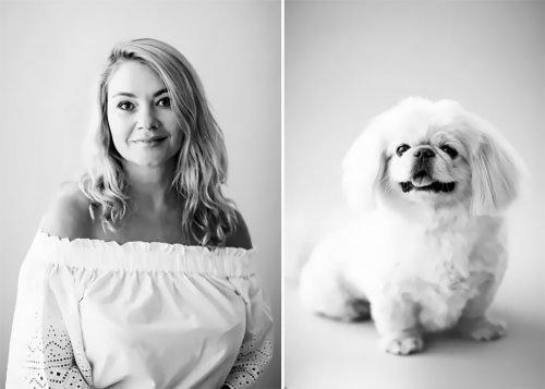 Фотограф показывает сходство между домашними питомцами и их владельцами (16 фото)
