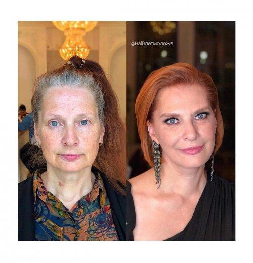 Московский парикмахер-стилист, который преображает женщин, возвращая им молодость (15 фото)