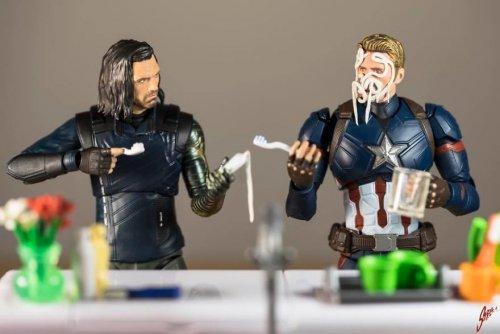 Повседневная жизнь супергероев Marvel (15 фото)