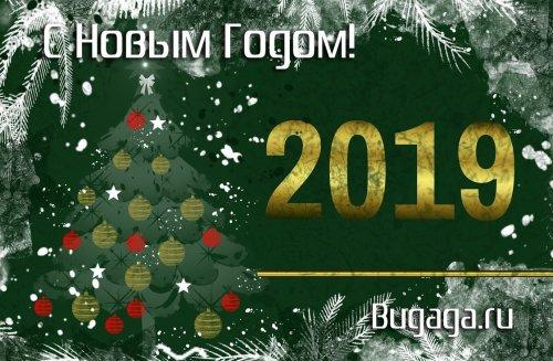 С Новым 2019-м годом, друзья!