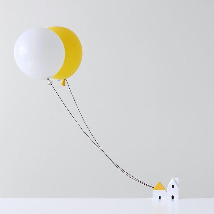 Лёгкие и воздушные минималистичные фотографии Пичайи Баррэу (25 фото)