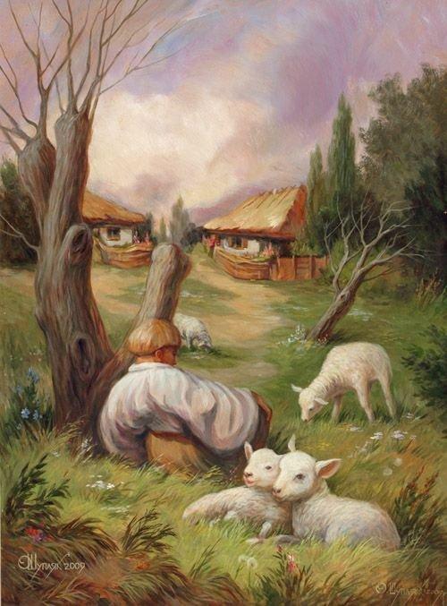 Optikai illúziók Oleg Shuplyak festményeiben (28 kép)