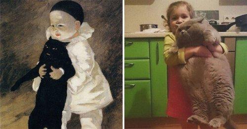 Интернет-пользователи создают косплей на произведения искусства (30 фото)