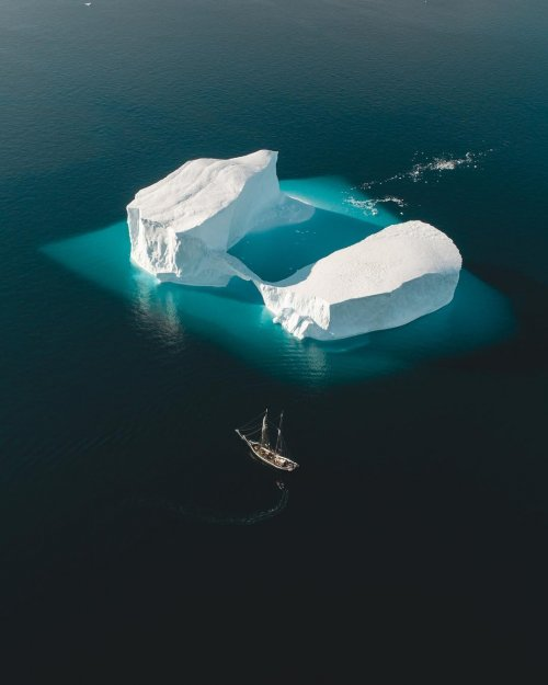 Потрясающие фотографии Джо Шаттера, сделанные во время арктической экспедиции в Гренландию (19 фото)