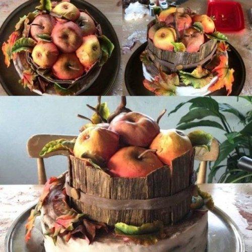 Необычные и прикольные десерты, которые меньше всего похожи на торты (19 фото)