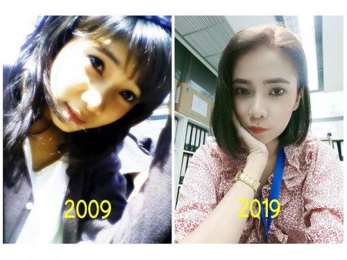 2009 vs. 2019: Интернет-пользователи делятся своими фотографиями 10-летней давности (27 фото)