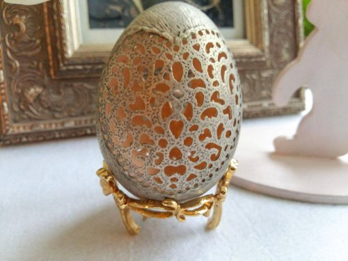 Украинская художница превращает яичную скорлупу в прекрасные произведения искусства (15 фото)