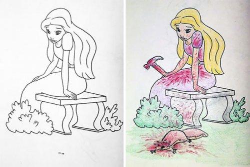31 причина, почему детские раскраски нельзя давать взрослым