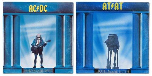 """Знаменитые обложки музыкальных альбомов в стиле """"Звёздных войн"""" (28 фото)"""