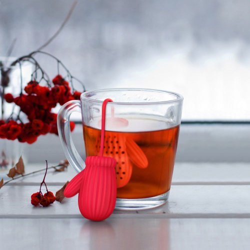Креативные и прикольные ситечки для заваривания чая (12 фото)