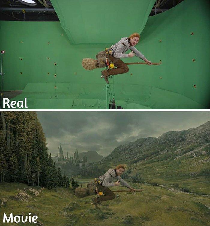 Гарри поттер спецэффекты картинки