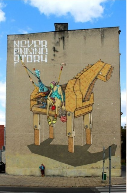 Стрит-арт со всего мира (21 фото)