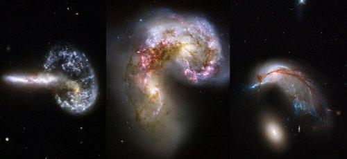 Атлас пекулярных галактик Хэлтона Арпа (12 фото)