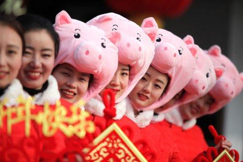 Китайский Лунный Новый год 2019 (28 фото)