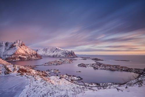 Умиротворяющие арктические фотопейзажи Рафала Небельского (14 фото)