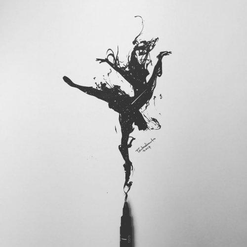 Скрытые иллюстрации Джозефа Катимбанга (20 фото)