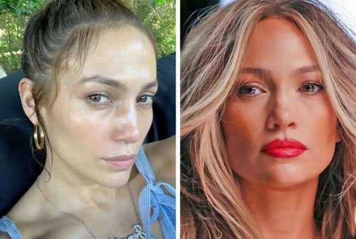 19 знаменитостей без макияжа