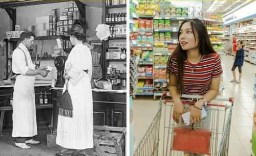 Как изменился мир за 100 лет (16 фото)