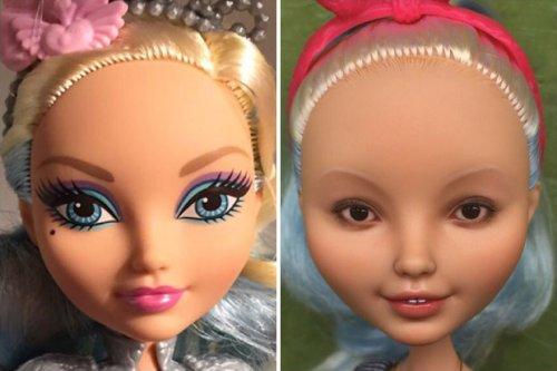 Художница придаёт куклам реалистичный вид (16 фото)