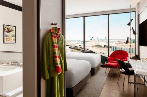 Заброшенный терминал нью-йоркского аэропорта обрёл вторую жизнь в виде роскошного отеля в стиле ретро (12 фото)