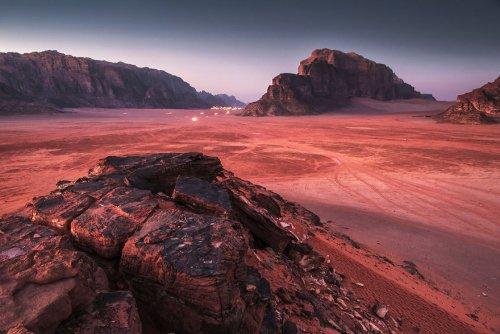 Внеземные пейзажи пустыни Вади-Рам, где Земля превращается в Марс (15 фото)