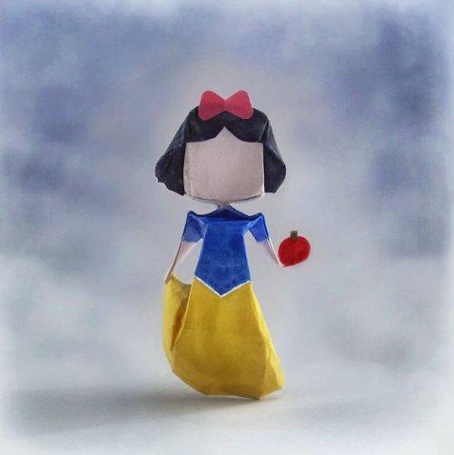 Миниатюрные оригами, вдохновлённые персонажами поп-культуры (23 фото)