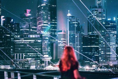 Футуристический взгляд на Сингапур через объектив фотографа Эллиса Энтона (26 фото)