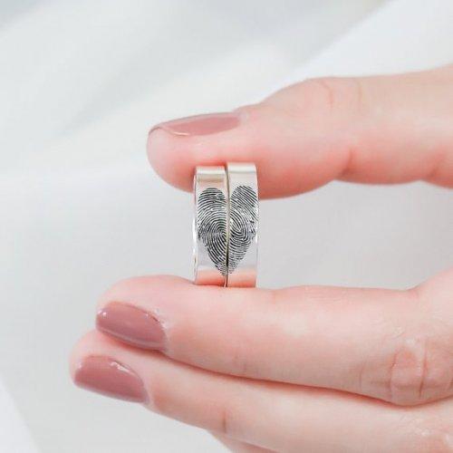 Креативные парные кольца, которые без слов заявят о ваших чувствах (12 фото)