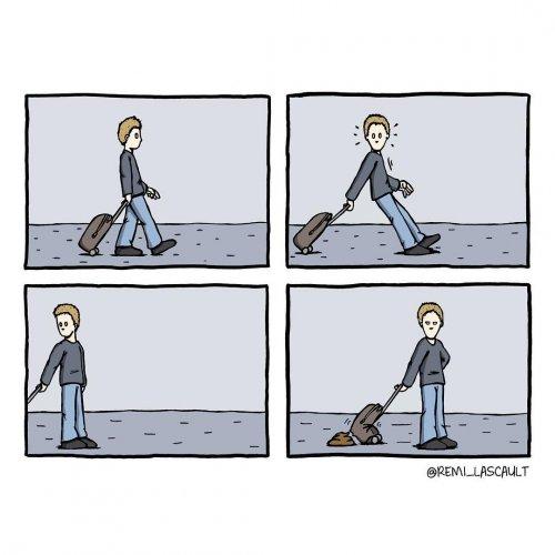 Комиксы для любителей чёрного юмора (16 шт)