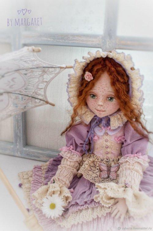 """""""Живые"""" текстильные коллекционные куклы от подмосковной художницы (8 фото)"""