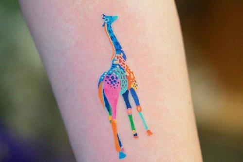 Красочные татуировки Zihee Tattoo (11 фото)