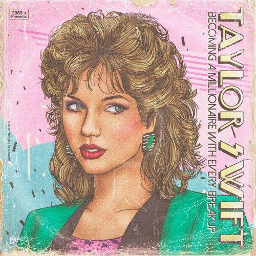 Художник изобразил обложки альбомов современных поп-звёзд в стиле 1980-х (17 фото)