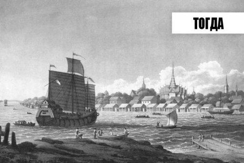 Города мира тогда и сейчас (26 фото)