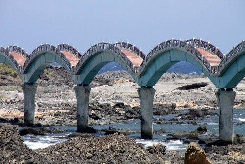 Сансянтай: Драконий мост на остров Трех Бессмертных (17 фото)