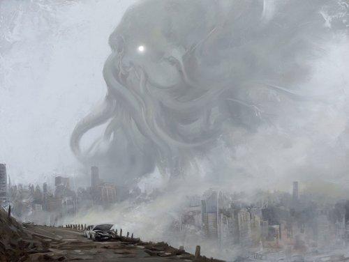 Жуткий и опасный мир: иллюстрации Дэвида Палумбо в жанре фэнтези и научной фантастики (27 фото)