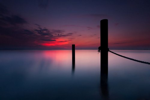 Польский фотограф, живущий на побережье Балтийского моря, запечатлел его красоту (8 фото)