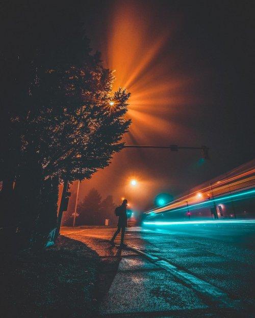 Атмосферные уличные пейзажи Ванкувера в фотографиях Мадо Эль Хоули (22 фото)