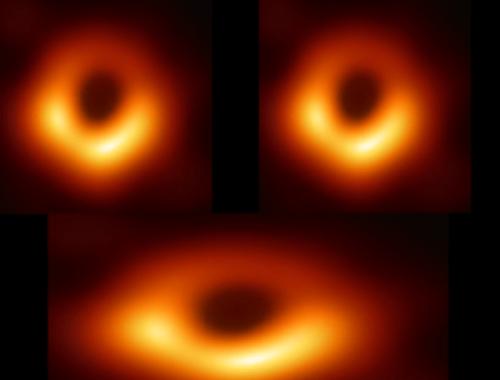 Первая в истории фотография чёрной дыры и шутки про неё (12 фото + 2 видео)