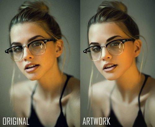 Нарисованные от руки портреты этого художника можно запросто перепутать с фотографиями (6 фото)