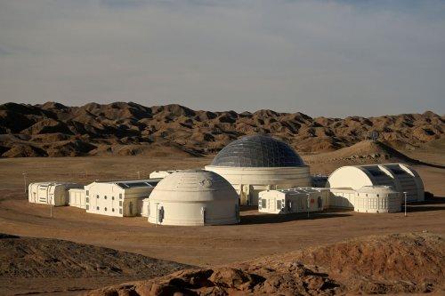 Марс в пустыне Гоби (20 фото)