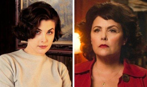 Актрисы культовых телесериалов 1990-х тогда и сейчас (12 фото)
