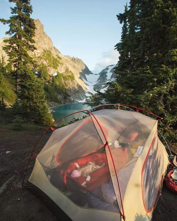 фото прозрачная палатка давно мечтала