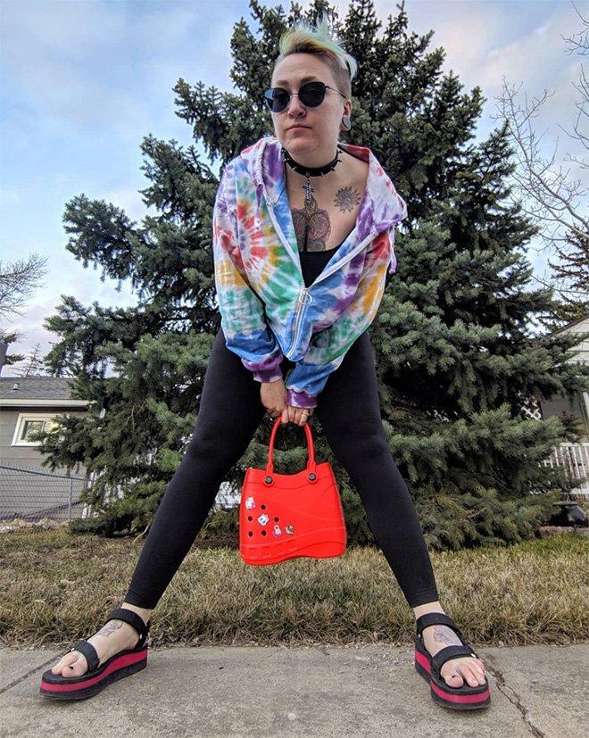 Сумки-кроксы: новый ужасный модный аксессуар (19 фото)