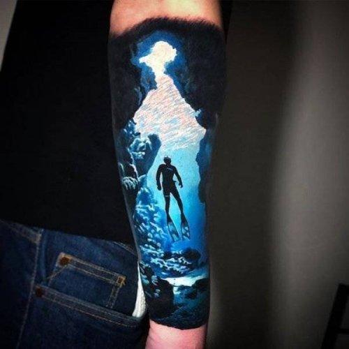 Некоторые татуировки сродни произведениям искусства (35 фото)