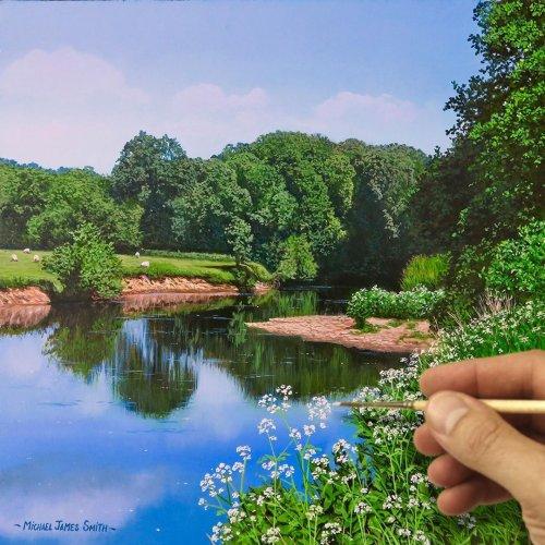 Гиперреалистичные пейзажи Майкла Джеймса Смита, которые можно запросто принять за фотографии (12 фото + видео)